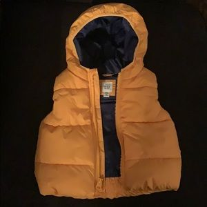 Baby gap quilted puffer vest